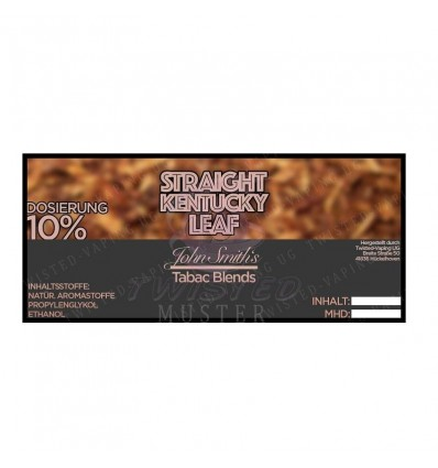 STRAIGHT KENTUCKY LEAF 10 ml