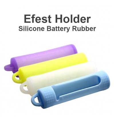 COVER SILICONE PER BATTEIRE 18650